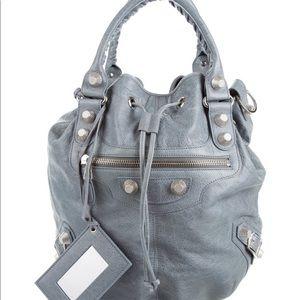 💯 Authentic Balenciaga Giant 21 Pompon Bag
